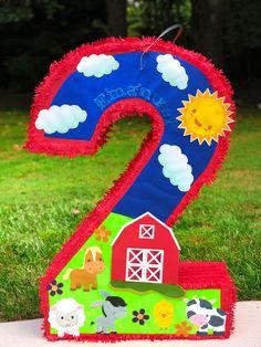Farm Animal Birthday, Cowgirl Birthday, 1st Boy Birthday, Happy Birthday, Old Macdonald Birthday, 2nd Birthday Party Themes, Barn Parties, Farm Party, Farm Theme