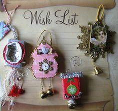 Maximum Embellishment: December 2012 More matchbox ornaments