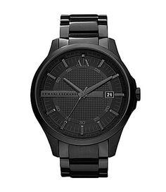 Armani Exchange Black Men´s Smart Watch