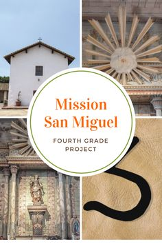 The best things about doing a fourth grade project for Mission San Miguel are its original frescoes and all the original buildings that are still standing California Missions, California Travel, San Miguel Mission, Mission Projects, Travel Expert, History Projects, Fourth Grade, Wine Tasting, Classroom Ideas