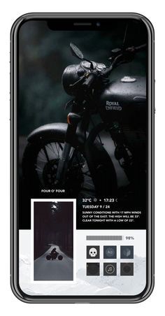 royal enfield new model App Design Inspiration, Typography Inspiration, Creative Instagram Stories, Instagram Story, Foto Text, Themes For Mobile, Royal Enfield Accessories, Enfield Bike, Enfield Motorcycle