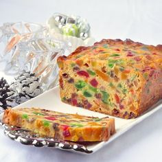 Apricot Fruitcake - This light apricot fruitcake recipe takes our very popular Apricot Raisin Cake and turns it into a moist and delicious Christmas fruitcake.
