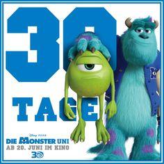 Seid ihr auch schon so gespannt? Bald gehts los #DieMonsterUni ©Disney•Pixar