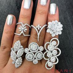 DVANI by A&D Gem (@dvani_adgem) on Instagram: Diamond Rings