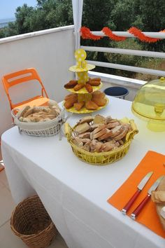 Orange and yellow party by Bad Bad Maria
