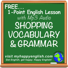 Do you like shopping? When was the last time you went shopping? Learn Phrases and Vocabulary related to shopping. Click the link!