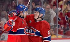 Tomas plekanec and Brendan Gallagher