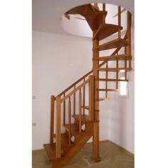 Σκάλα εσωτερικού χώρου κυκλογωνιακή Ωμέγα με κυλινδρικό κάγκελο