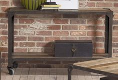 Largo Industrial Age Console Table & Reviews | Wayfair