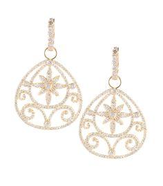 18k Gold and Diamond Jasmine Earrings by Erica Courtney®