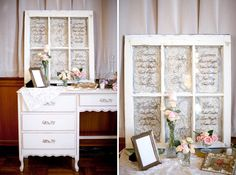 Wedding window + french provincial desk #soleileventfurnishings