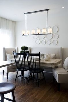 Windsor chairs with a modern look