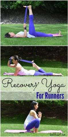 Sore or tired legs? Here's a great running tip - Recovery yoga for runners is the perfect way to soothe tightmuscles and help improve running recovery. It's also great for anyone who just needstochill out and relax!