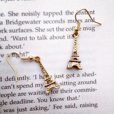 Eiffel Tower Earrings by AvecAmourLauren on Etsy