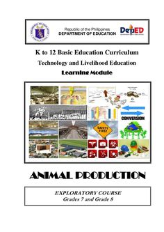K to 12 Basic Education Curriculum Technology and Livelihood Education Learning Module ANIMAL… School Bulletin Boards, Poultry, Curriculum, High School, Clip Art, Technology, Education, Learning, Live