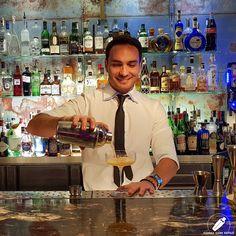 Con la alegría y satisfacción de ver aparecer el resultado de un gran trabajo. Sin duda un gran cóctel del bartender Rubén Fama .    #CopasConEstilo #Bartender #Cocktail #Coctelería #Cóctel #Cócteles #Madrid #CóctelesEnMadrid Madrid