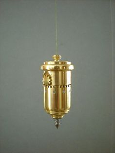 Brass Plumb Bob with Built in Gear Driven Reel by QualityInVermont, $500.00