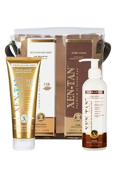 Anyone use these?  Needing something to keep me out of the sun but can't find a self-tanner that's nice and dark. - Xen-Tan® Anniversary Set (Nordstrom Exclusive) ($75 Value) available at #Nordstrom