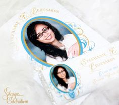 Graduation Invitations - Booklet style
