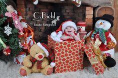 Cenários Natal - Christmas Photoshoot C.Biehl Estúdio Fotográfico - Porto Alegre - fotografias de bebê, recém-nascidos,  newborn, fotos de natal, christmas www.cbiehl.com.br