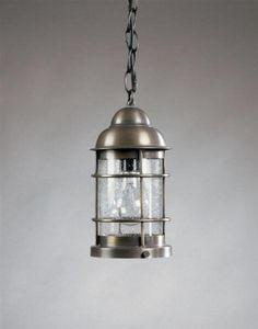 "Nautical Hanging Antique Brass Medium Base Socket Clear Seedy Glass by Northeast Lantern. $568.50. Northeast Lantern 3512-AB-MED-CSG Antique Brass Hanging Lantern Dimensions: Height: 10-1/2"" Width: 5-1/2"" Length: 7-1/2"" Number of Bulbs: Maximum Wattage Per Bulb: 75 WBulb Base: Medium Bulbs Not IncludedGlass: Clear Seedy"