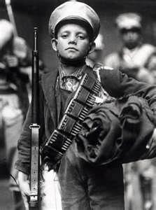 Joven combatiente revolucionario, México