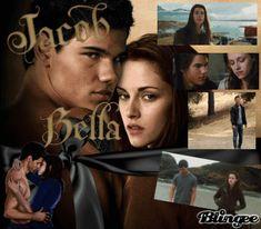 Bella Swan and Jacob Black in new moon Jacob And Bella, Twilight Bella And Edward, Twilight Saga Series, Twilight Book, Bella Swan, Jacob Black, Taylor Lautner, Joe Jonas, New Moon