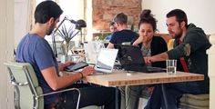The one day offers of coworking are really cool for digital nomads in Impact Hub Athens. Come to hot Greece, experience historical Athens !