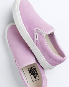 Trendy Womens Sneakers : Vans for J.Crew classic slip-on sneakers in suede Zapatos Shoes, Vans Shoes, Women's Vans, Flat Shoes, Vans Footwear, Crazy Shoes, Me Too Shoes, Mode Shoes, Shoe Boots