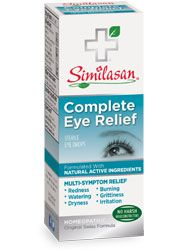 Complete Eye Relief | Mulit-Symptom Eye Care | Natural Eye Drops | Similasan USA