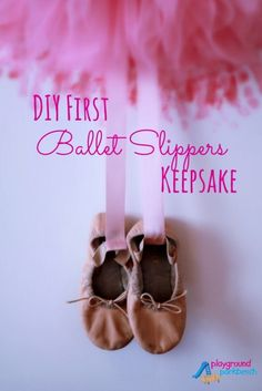 Preparations have begun for our oldest daughter's big girl room... see her picks for paint, bedding and how together we created a keepsake for her first ballet slippers that doubles as a great wall canvas.