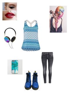 """Meeting Hikaru"" by maryvarleyrox ❤ liked on Polyvore featuring maurices, H&M, Dr. Martens and Frends"