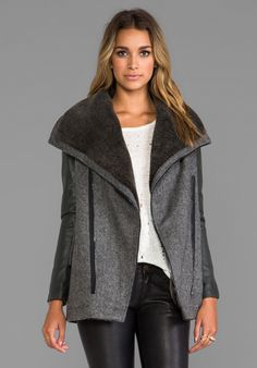 I discovered this Funktional Atomic Faux Shearling Jacket in Atomic from REVOLVEclothing.com on Keep. View it now.