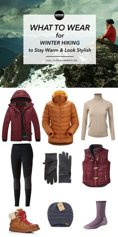 Winter Hiking Clothes: Stay Warm And Look Stylish Winter-Wander-Outfits Hiking Boots Outfit, Cute Hiking Outfit, Trekking Outfit, Hiking Shoes, Hiking Dress, Mountain Hiking Outfit, Summer Hiking Outfit, Hiking Pants, Outfit Winter