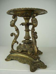 Online veilinghuis Catawiki: Bronzen schaal op onderstel - Frankrijk - ca. 1880