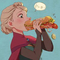 sandwiches always fall apart ——————– A-KA