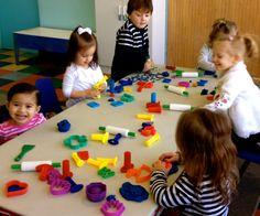 Learning to work together. Gymboree Play & Learn, New York