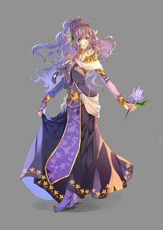 Uthelia by aiki-ame Game Character Design, Fantasy Character Design, Character Design Inspiration, Character Concept, Character Art, Concept Art, Dnd Characters, Fantasy Characters, Female Characters