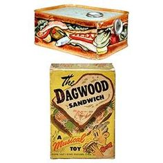 1947 Midwest Corp, The Dagwood Sandwich Musical Toy in Original Box
