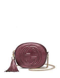 GUCCI Soho Metallic Mini Chain Bag