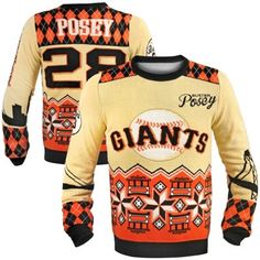 Buster Posey San Francisco Giants Ugly Sweater