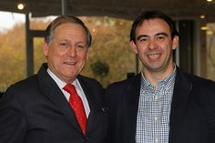 Presentación oficial de EnRhED el día 14 de Diciembre de 2012 en Green House (Madrid). En la foto con Andres Ortega.