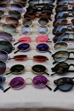 sunglasses colourful round glasses hipster hippie #ShadesForDays #Glam