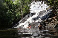 Cachoeira da Usina, em Itacaré. Visite o BrasilGuias