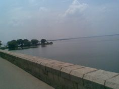 Osman Sagar popularly known as Gandipet, is an artificial lake in the Indian city of Hyderabad. The lake is around 46 km², and the reservoir is around 29 km².