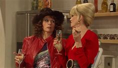 "19 Signs You Might Be Edina Monsoon From ""Absolutely Fabulous"" - So cheers to your fabulousness, sweetie!"