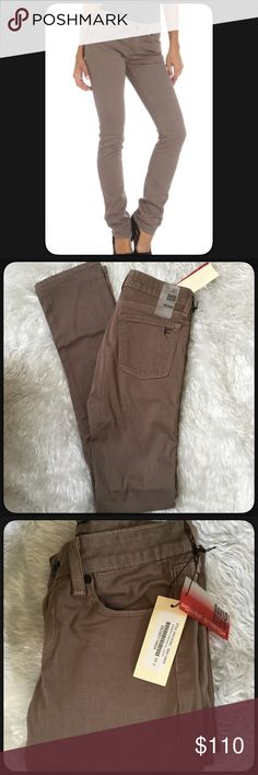"""🆕Nikki Pencil Leg Jeans by David Kahn David Kahn jeans in the color cinder. Size 25, Nikki Pencil Leg Jeans. Material 98% cotton 2% elastane. 5 pocket design. Great pair of high quality jeans. NWT. Measures approximately waist 13"""" across lying flat, inseam 33"""", rise 7.5"""". Power Stretch jeans the will move with you. The color is very pretty, putty color to me. David Kahn Jeans Skinny"""