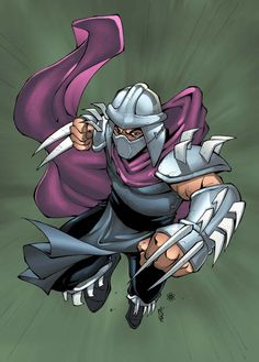 Shredder - TMNT - Andie Tong