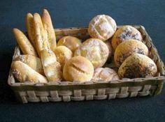 хлеб из полимерной глины