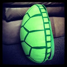 The Almost Perfectionist: Homemade Turtle Costume